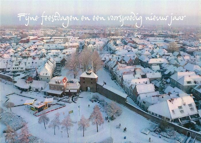 Foto vanuit de lucht van Harderwijk
