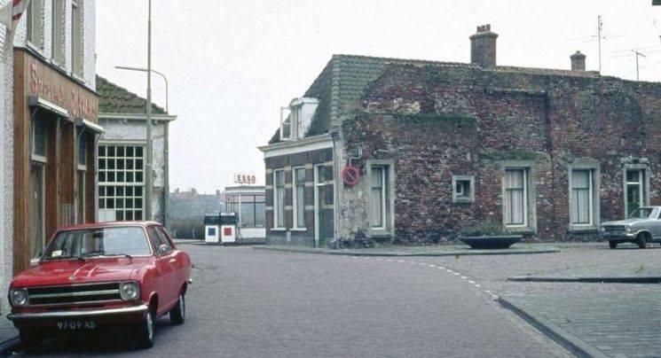 Hoek Doelenstraat met de Luttekepoortstraat in Harderwijk