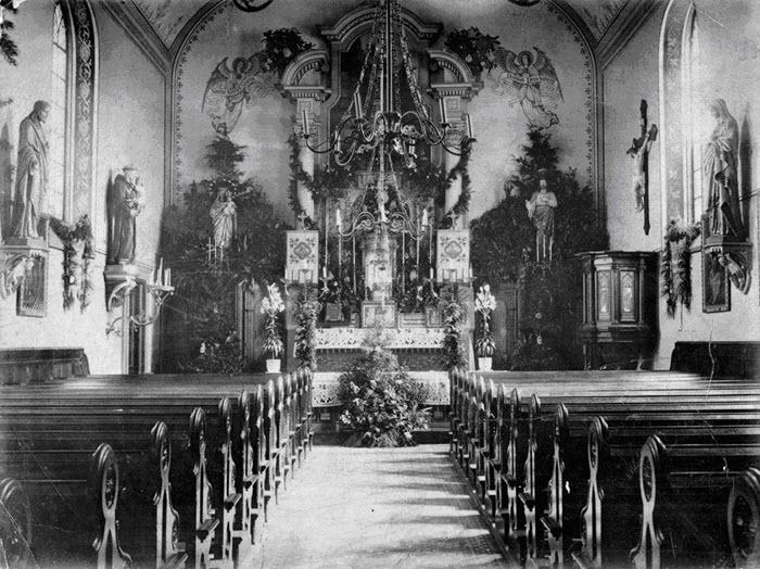 Interieur Sint Martinuskerk Harderwijk