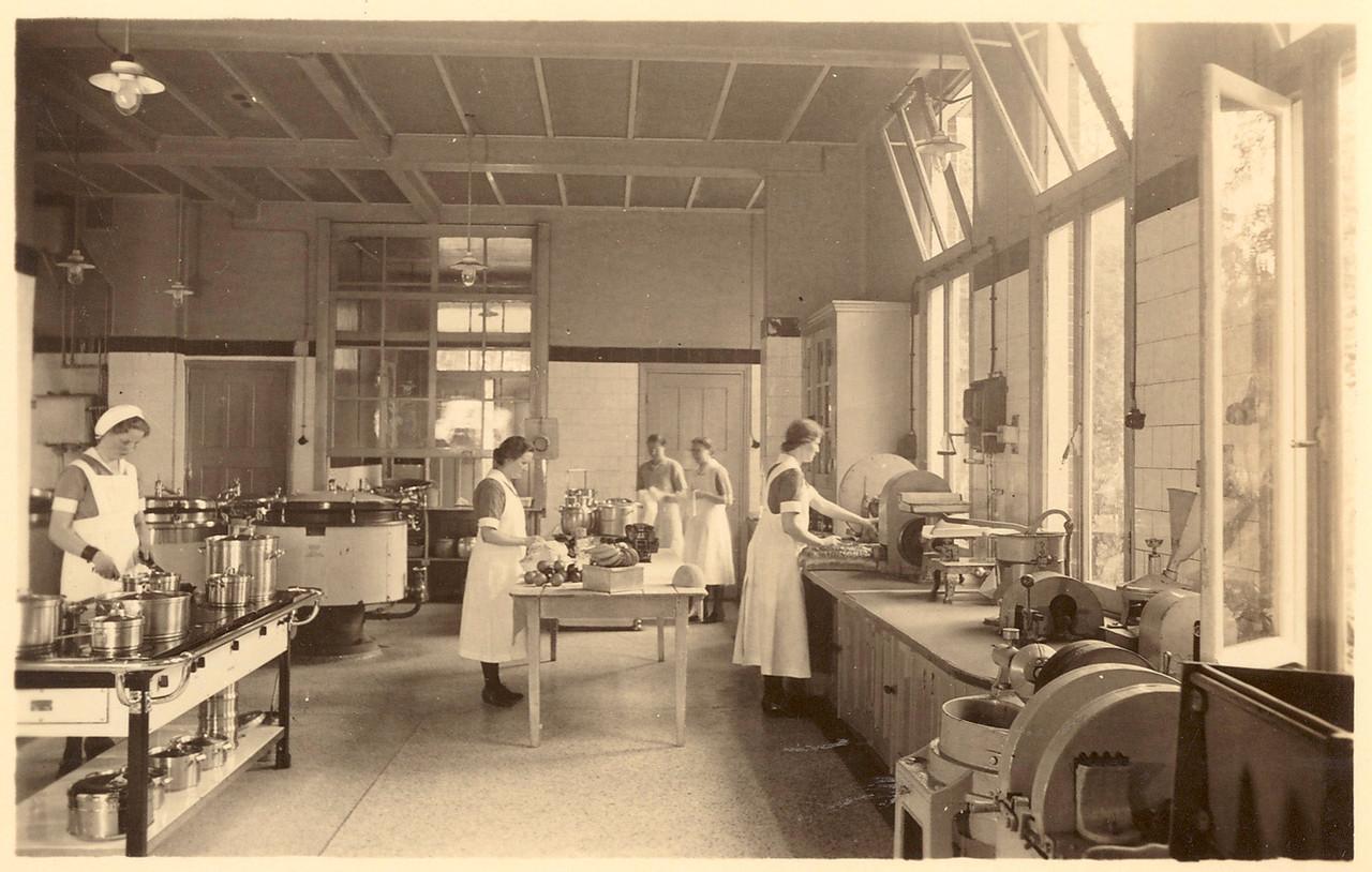 Keuken sanatorium Sonnevanck Harderwijk