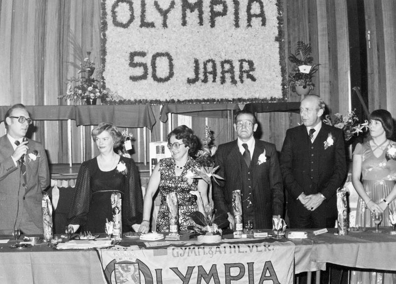 50 jaar gymvereniging Olympia Harderwijk