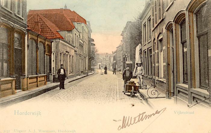 Vijhestraat in Harderwijk