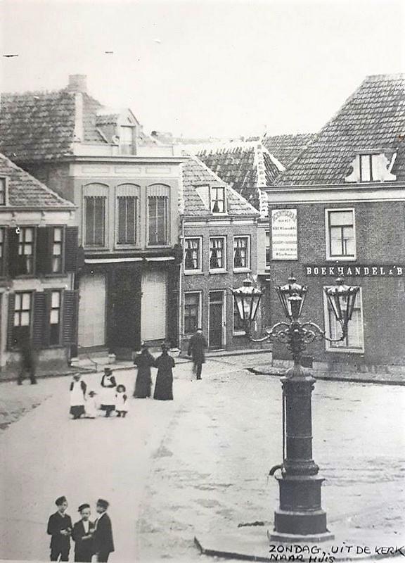 Wolleweverstraat naar de Markt in Harderwijk