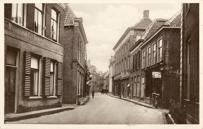 Donkerstraat Harderwijk vroeger