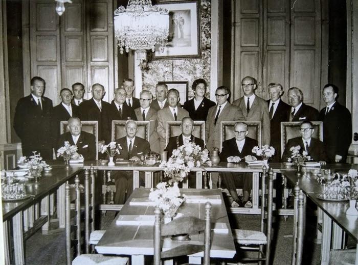 Gemeenteraad Harderwijk in de jaren zestig