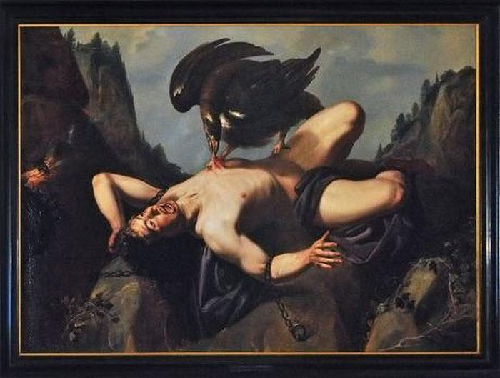 De marteling van Prometheus collectie gemeente Harderwijk