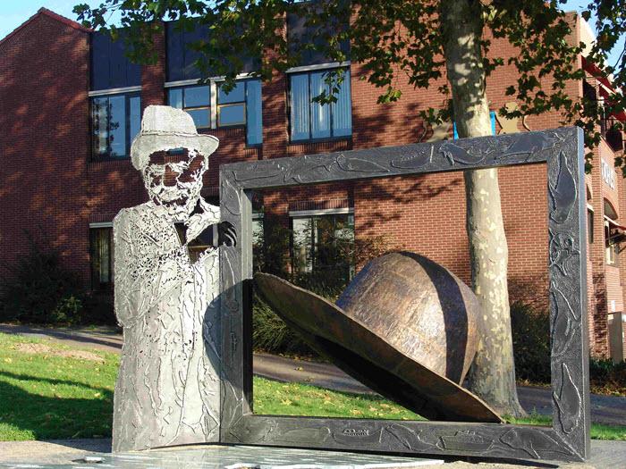 Kunstwerk Eibert den Herder Harderwijk
