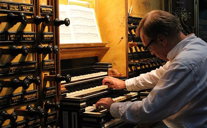 Jan Zwart organist
