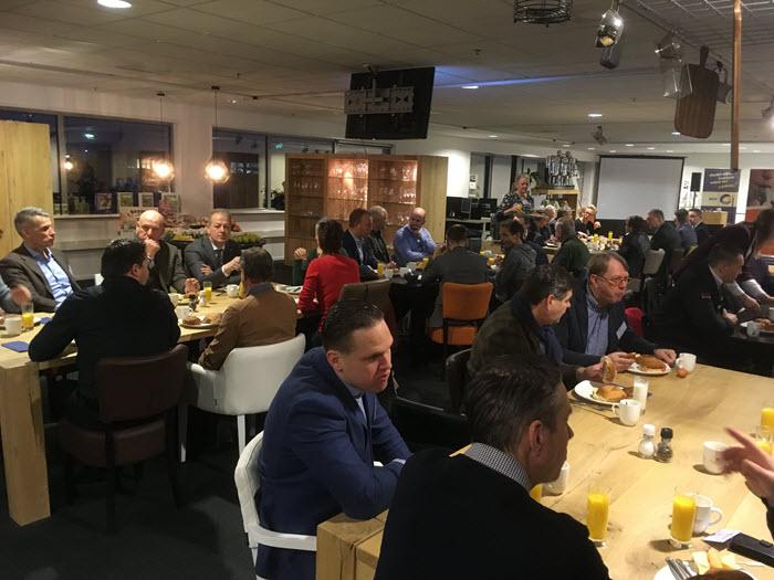 Bedrijvenkring Harderwijk ondernemersontbijt bij van de Mheen