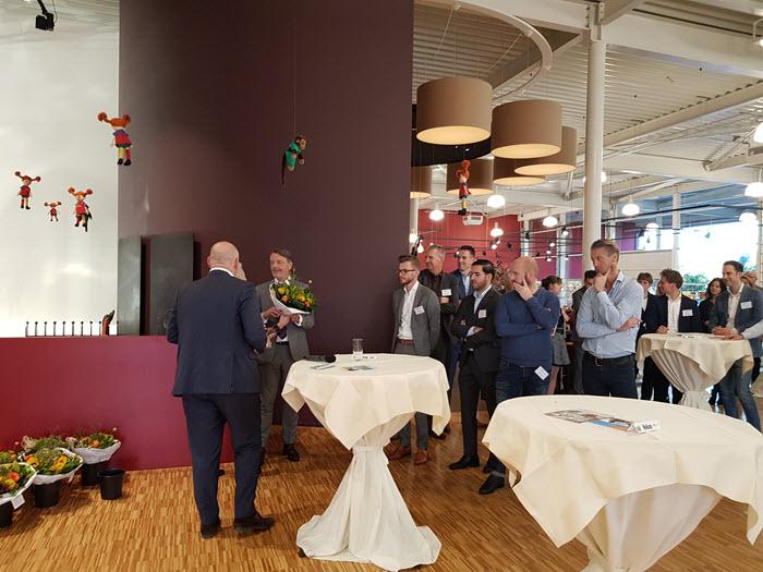 Bedrijvenkring Harderwijk netwerkontbijt bij Broekhuis