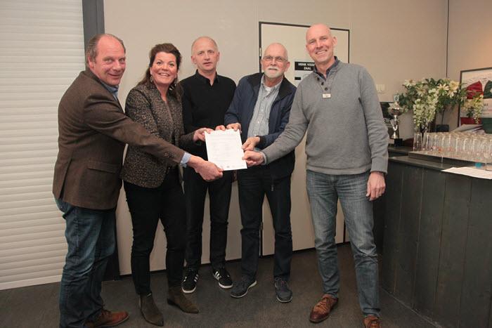 Sportpark intentieovereenkomst Harderwijk
