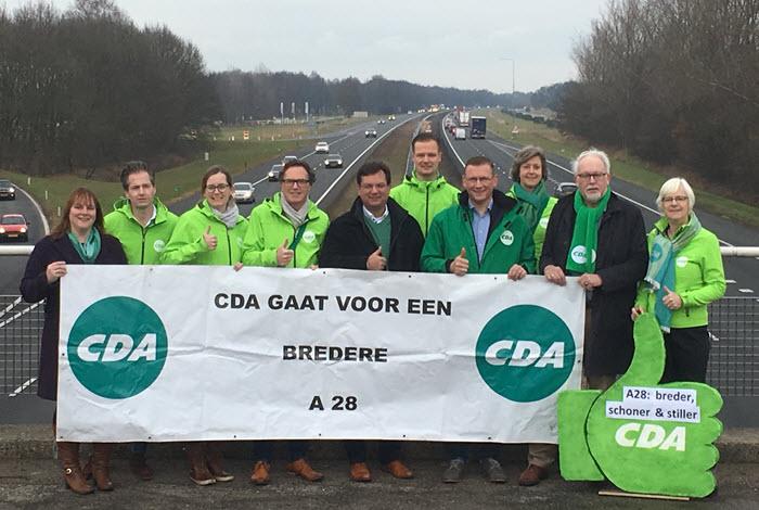 CDA Harderwijk Hierden voert actie bij A28