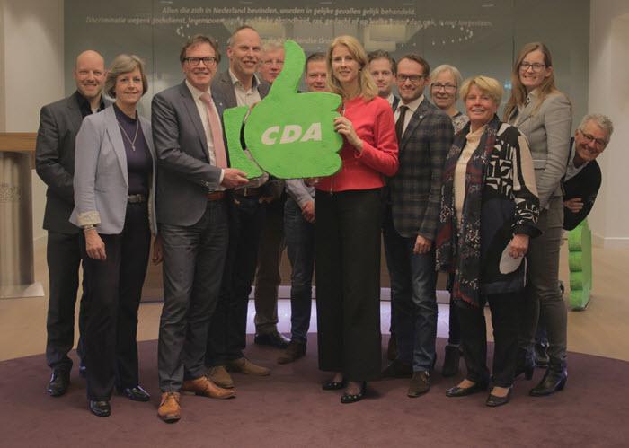 Mona Keijzer op bezoek bij het CDA in Harderwijk