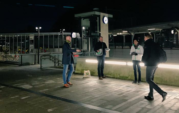 D66 actie happen naar Pijnenburg