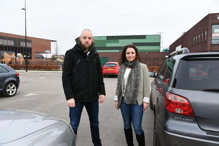 Peter de Groot en Noha Lammerts van de VVD Harderwijk Hierden