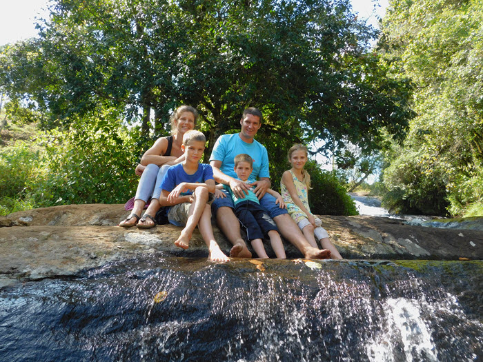 Familie Rombout in Malawi