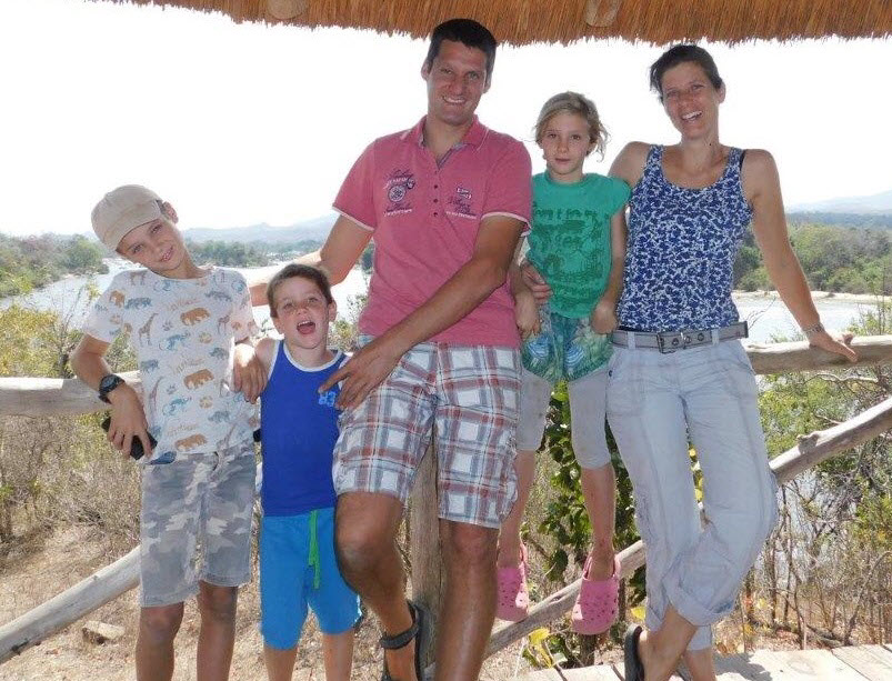 Familie Rombout Malawi