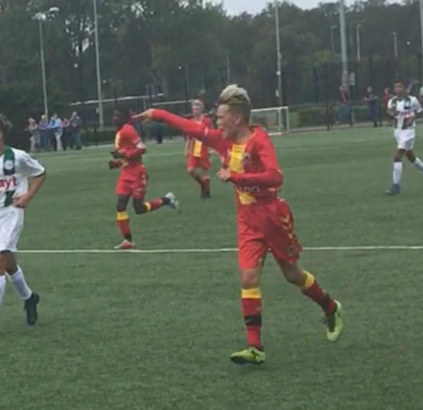 Leon Opdam voetbaltalent