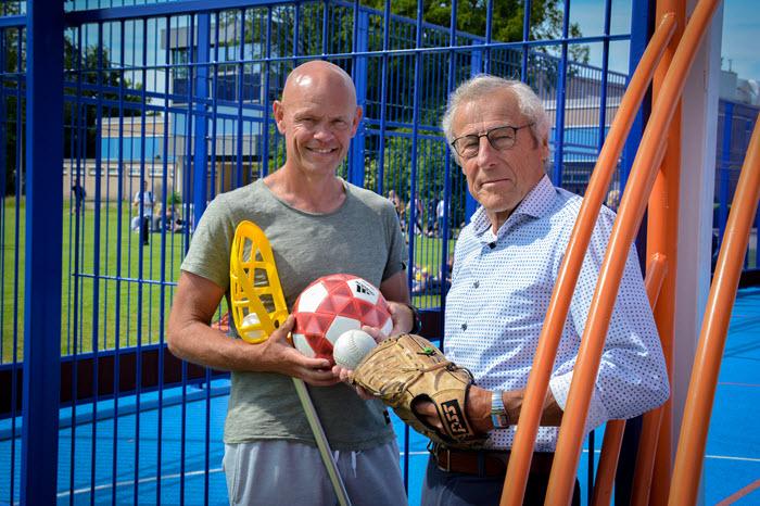 Piet de Wilde en Jan Martien van de Wetering CCNV Harderwijk