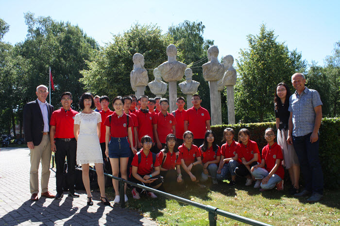 Chinese partner bezoekt Groevenbeek Ermelo