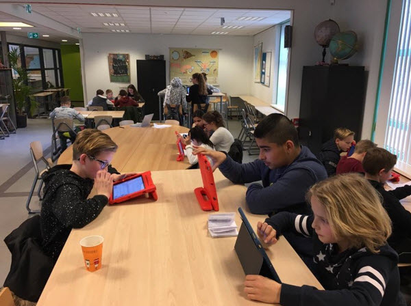 Leerlingen van Het Talent en RSG Harderwijk