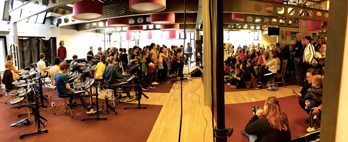Muziekproject obs het Talent Harderwijk