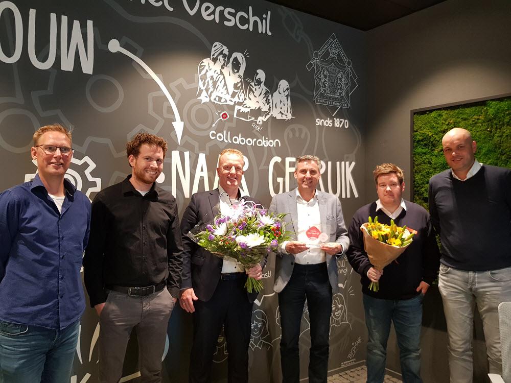 Wuestman beste stagebedrijf 2019 in Gelderland