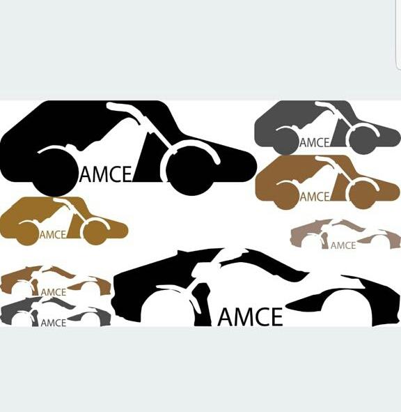 Logo AMCE ontworpen door leerling van het Morgen College Harderwijk
