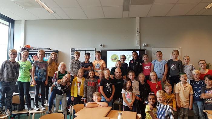 Aftrap E waste basis Wolderweide Harderwijk