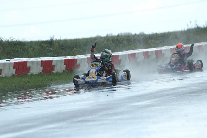 Mitchell van DijkNK overwinning Mini Parilla-klasse foto Bas Kaligis/RaceXpress.nl