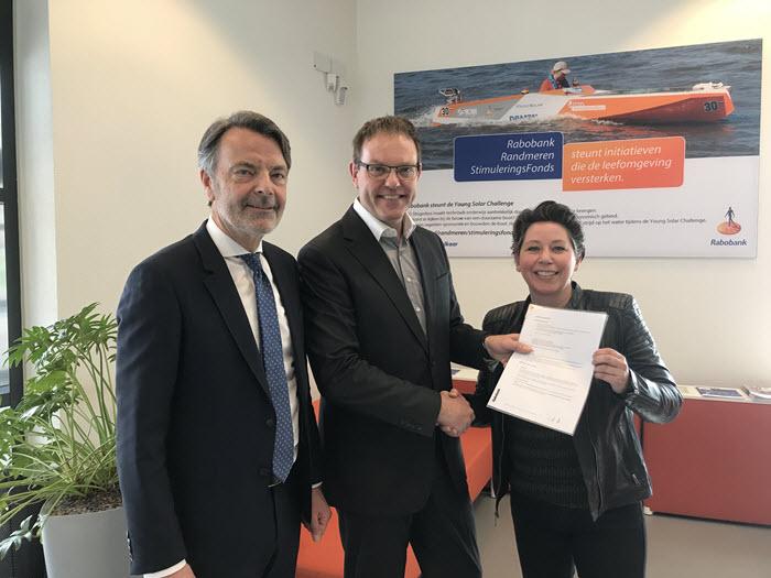 Overeenkomst Harderwijkse Uitdaging en Rabobank Randmeren