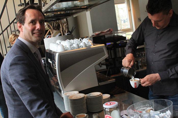Uitgesteld koffie Harderwijk
