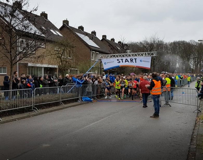 Start van de halve marathon Harderwijk 9 maart 2019