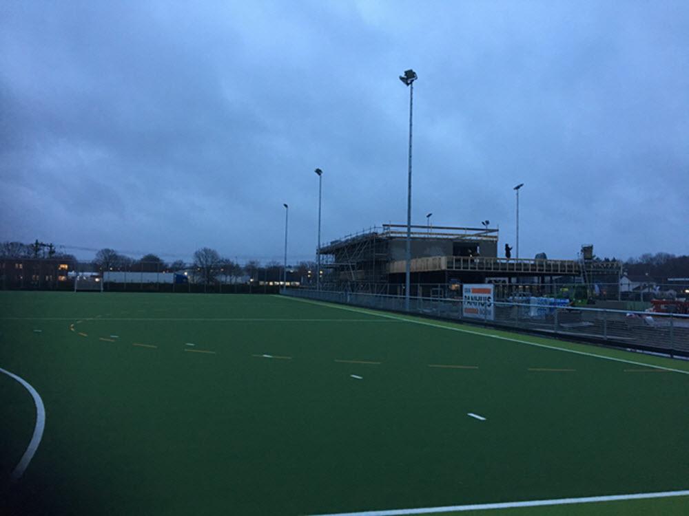 Hockeyclub de Mezen Harderwijk hoogte punt gebouw