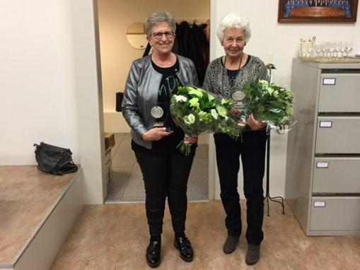 Jubilarissen 't Hierder Zangkoor 2017
