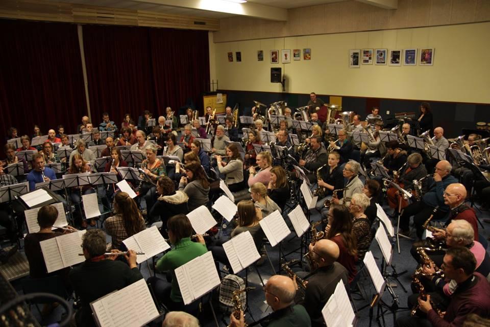 Winter Play In muziekvereniging Stedelijke Harmonie Harderwijk
