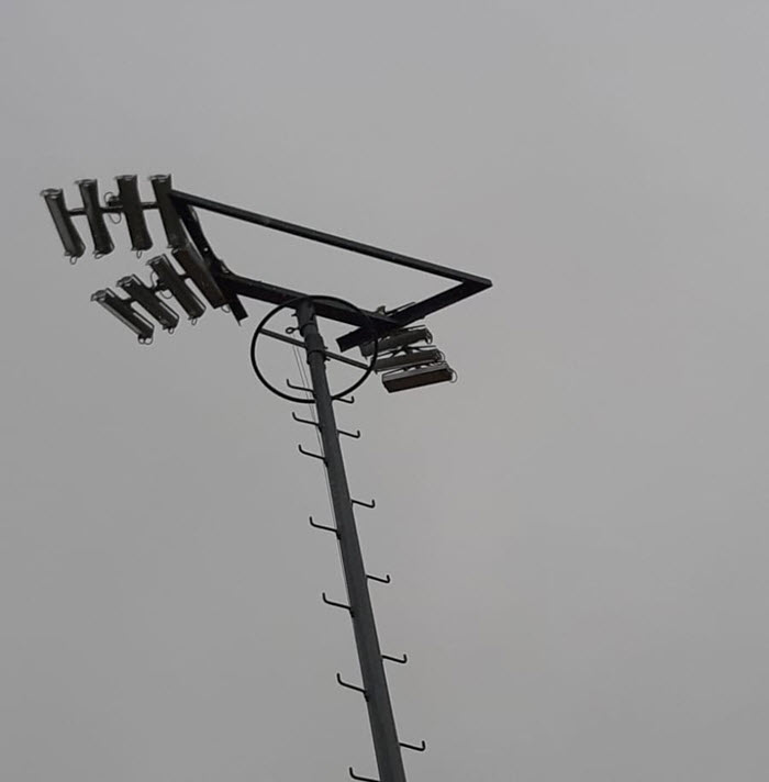 Gestolen baanverlichting merk SPORT Technologies