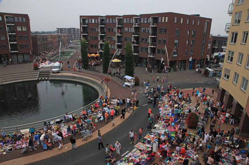 Kleedjesmarkt Triasfeest Drielanden Harderwijk