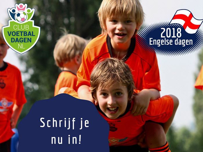 Engelse voetbaldagen FC Horst in de mei vakanite 2018