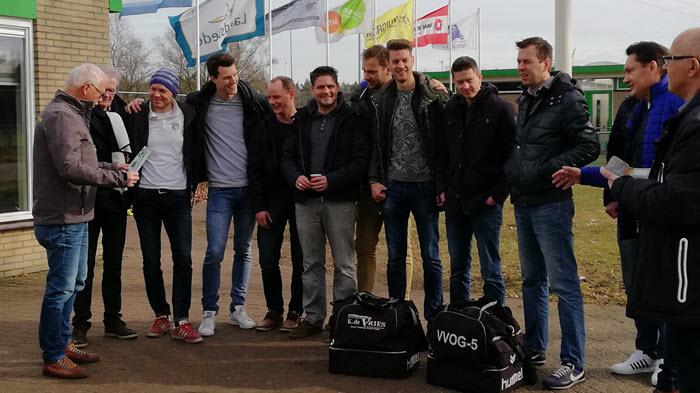 VVOG senioren team voetbal Harderwijk