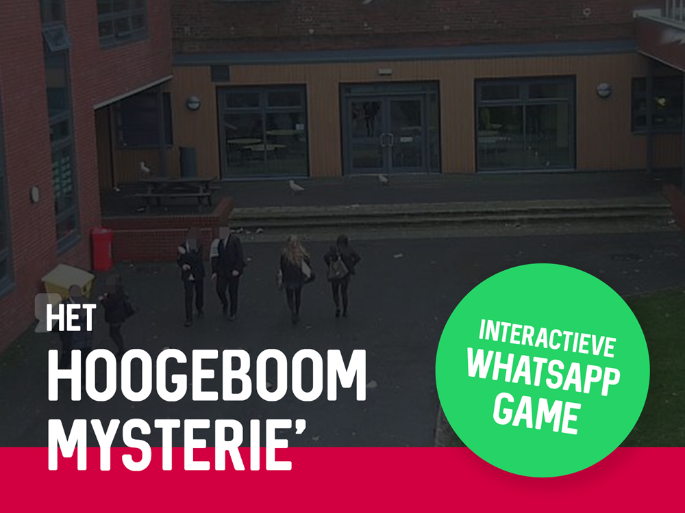 Social spel Het Hoogeboom Mysterie