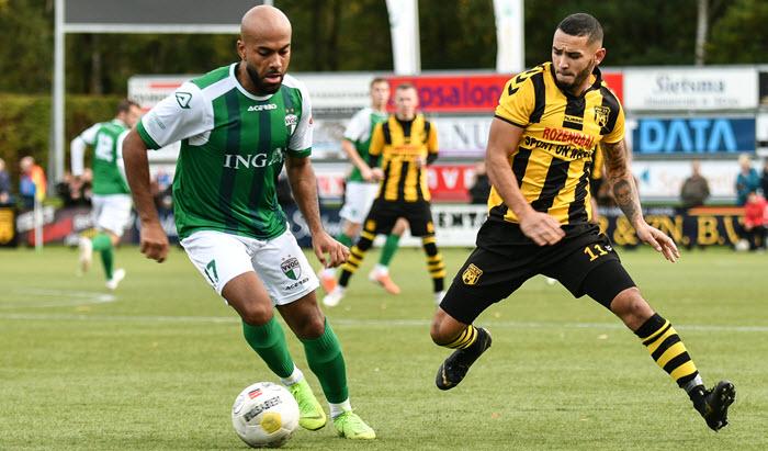 Derby DVS'33 tegen VVOG 2 november 2019 Foto Theo Aalten