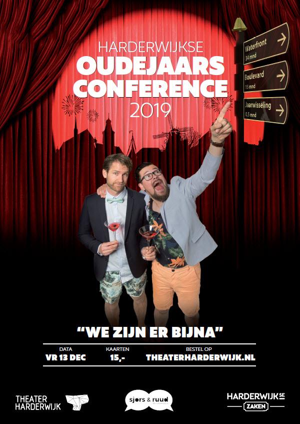 Harderwijkse Oudejaarsconference 2019 met Sjors en Ruud