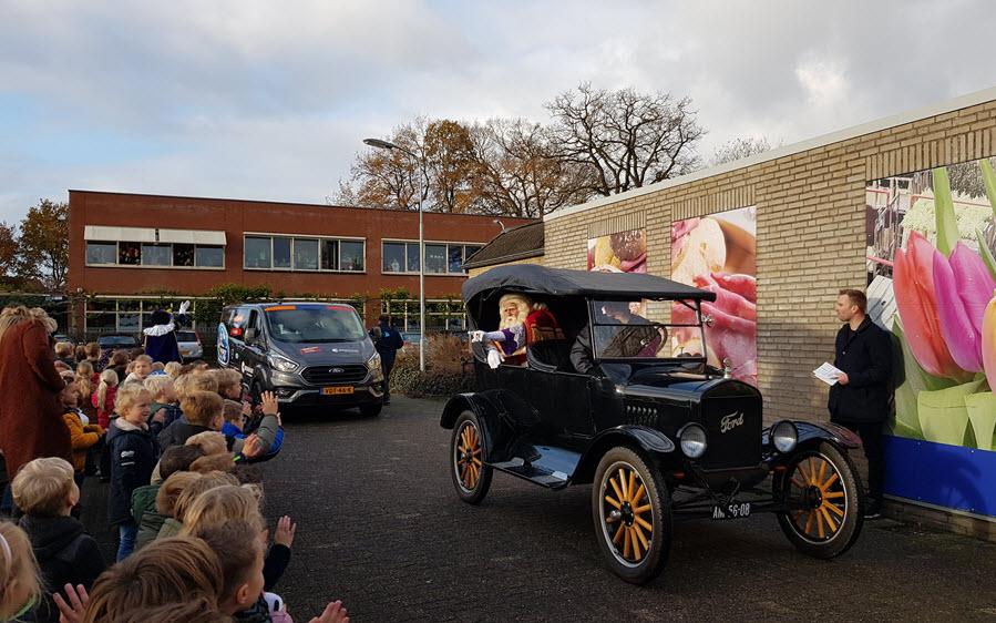 Sinterklaas Harderwijk bezoek CBS de Bron