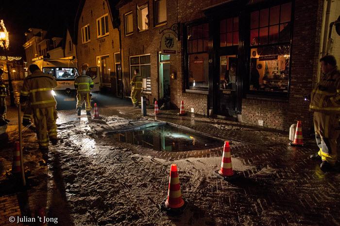 Wateroverlast Hoogstraat Harderwijk