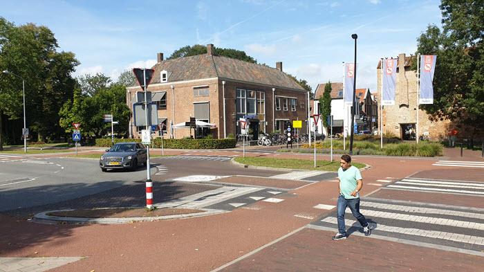Kruispunt Brasserie de Bank in Harderwijk