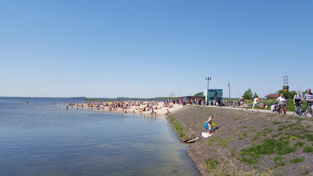 Strandeiland Harderwijk Wolderwijd