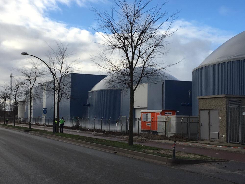 Lorentzstraat biogastank ontploffing Harderwijk