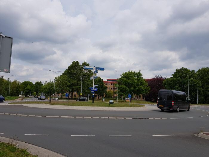 Rotonde Westeinde Westermeenweg Harderwijk