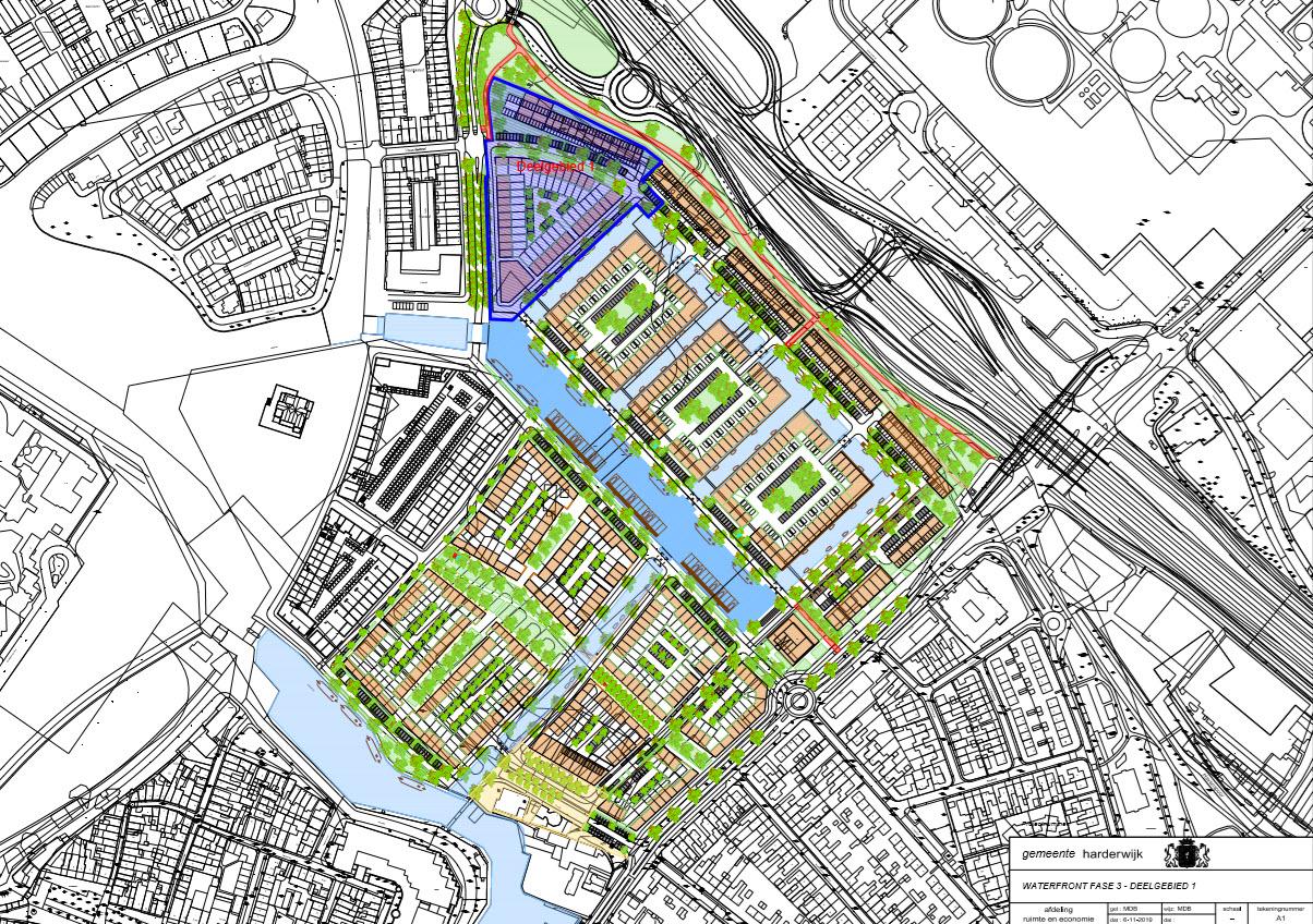 Ontwerp fase 3 Waterfront Harderwijk
